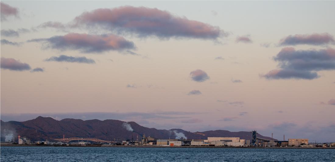 境港の風景